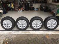 Vw Alloys with premium tyres