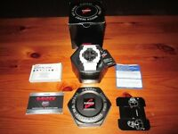 Like brand new condition, new model white Casio G shock, used for 6 hours