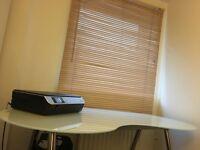 Stylish Office desk GLASS TOP
