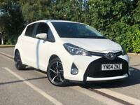 TOYOTA YARIS SPORT VVT-I 1.3 5dr WHITE!not VW POLO GOLF FORD FIESTA UP IBIZA CORSA