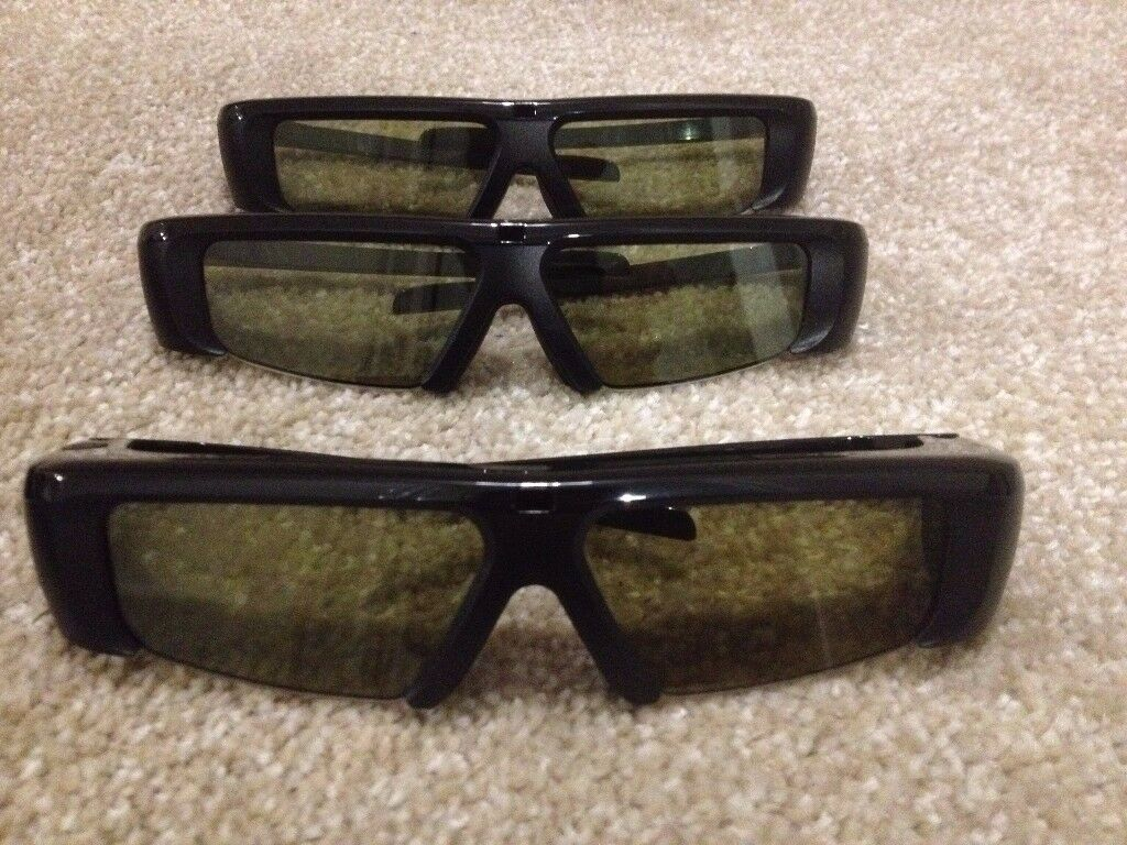 6a0b57be5 Samsung 3D Glasses SSG-2100AB/XC 3 Pairs | in Swansea | Gumtree