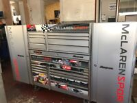 SNAP ON LIMITED ADITION MCLAREN SPORT TOOL BOX