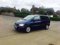 ZAFIRA 2004-1.6 CLUB. 7 SEATER EXCELLENT CONDITION-FULL SERVICE HISTORY CLEAN IN OUT HPI CLEAR-MOTED