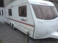 Twin Axle,4 berth,Coachman Amara with all extras and new Awning