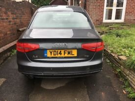 Audi A4 2014 Automatic S Line Fully Loaded damaged