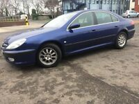 MINTED PEUGEOT 607 S HDI (diesel) AUTOMATIC GEARBOX-- FULL SERVICE HISTORY-- DRIVES LIKE NEW CAR