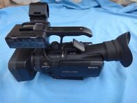 Sony HXR-NX70P Professional Rainproof Video Camera / Camcorder