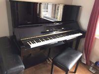 YAMAHA UX3 UPRIGHT PIANO WITH STOOL REMINING 4 YEARS GUARANTEE