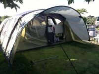 Vango Airbeam Eclipse 800 tent with side awning for sale