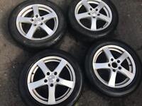 Dezent alloys wheels