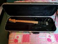 Hard case for electric guitar freedom