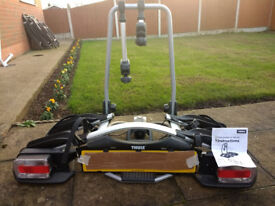 THULE G2 EUROWAY TOWBAR 2 BIKE CARRIER - HARDLY USED