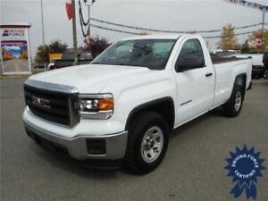 2015 GMC Sierra 1500 Regular Cab - 2WD - 8 Ft Long Box - 5.3L V8