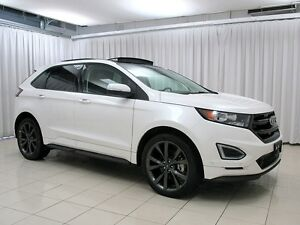 2015 Ford Edge SPORT AWD ECOBOOST SUV w/ HEATED/COOLED SEATS, PA