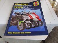 PIAGGIO & VAESPA HAYNES SERVICE & REPAIR MANUAL