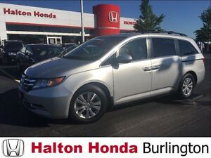 2014 Honda Odyssey EXL|LEATHER HEATED SEATS|REAR ENTERTAINMENT