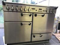 Rangemaster Cooker & Grill with splashback