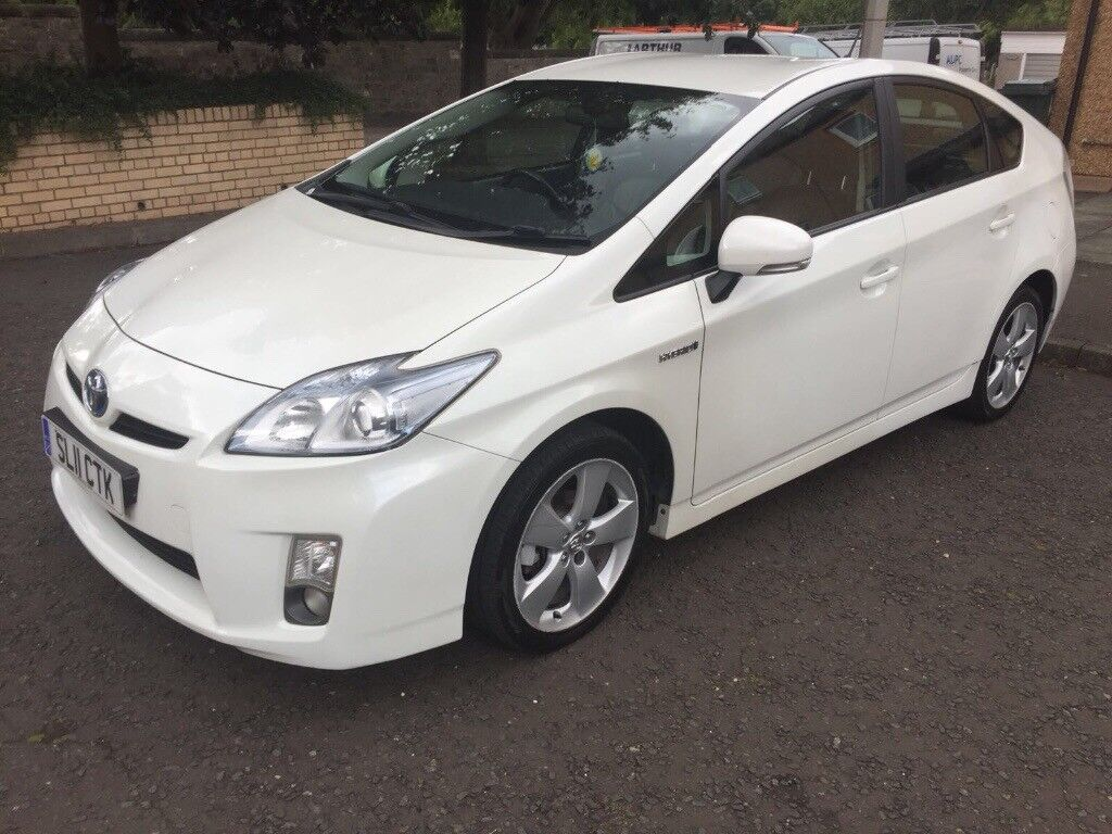 Toyota Prius Vvti T4 18 Hybrid Electric 1owner Leatherseats Aircon New Battery Fitted In Meadowbank Edinburgh Gumtree