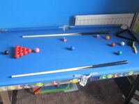 Kids Chad Valley 4ft Pool/Snooker table