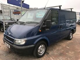 2005 05 FORD TRANSIT VAN TURBO DIESEL SUPERB DRIVE GOOD CONDITION INSIDE AND OUT LONG MOT NO VAT !!!