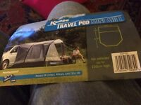 Kampa airbeam mini travel pod for camper vans up to 230cm high. Drive away.