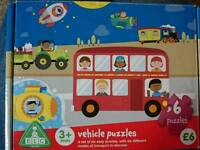 ELC Vehicle puzzles set of 6