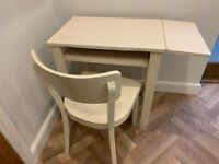 Habitat computer desk with a matching chair