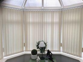 Vertical blinds ( various widths)