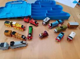 Diecast Thomas trains