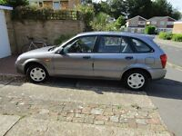2003 Mazda 1.6L GXI Manual in Very Good Condition One Owner Low Mileage (60193)
