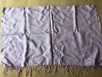 Lilac shawl