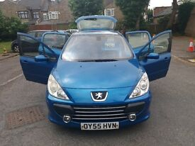 2.0 diesel peugeot 307 xsi 2005 year 142000 miles history mot 1/06/2018 hpi clear trade sale