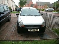 Ford Ka 2001 (Y) Silver. Petrol, Manual Transmition