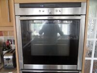 Nef Build in electric Oven Slide and Hide System model B46E74 3 years old in good condition