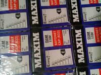 .Maxim 110v bayonet cap bulbs 60 watt box of 100