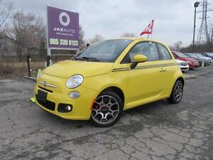 2012 Fiat 500 SPORT CLEAN CAR PROOF AUTOMATIC LOW MILEAGE