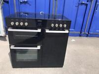 Belling Range Cooker Black Electric