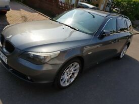 Very good condition BMW e61 MOT 12 MONTHS