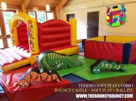 Special Offer: Hire a Bouncy Castle + Soft Play + Ball Pit for £150 - Free Delivery in 30min Radius.