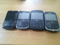 4 Blackberry *All working*