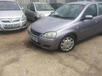 Vauxhall Corsa moted drives well 295 no offers