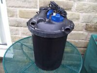 Oase Filtoclear pressurized pond filter (spares or repairs)