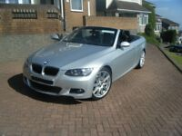 Bmw 320i m sport convertible 2009 very low mileage s/ history