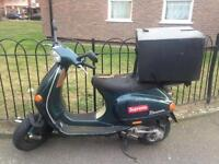 Quick sale working moped vespa