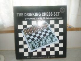 The Drinking Chess Set