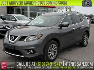 2015 Nissan Rogue SL | Navigation, Pano Moonroof, Leather