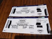 Kasabian Tickets x2 at Leeds First Direct Arena - Thursday 7th December