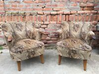 BEAUTIFUL Quality Mid-Century Chairs German Easy Seating Ultimate Comforters