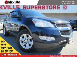 2010 Chevrolet Traverse 1LS | 7 PASS | REAR CLIMATE | A/C | OPEN