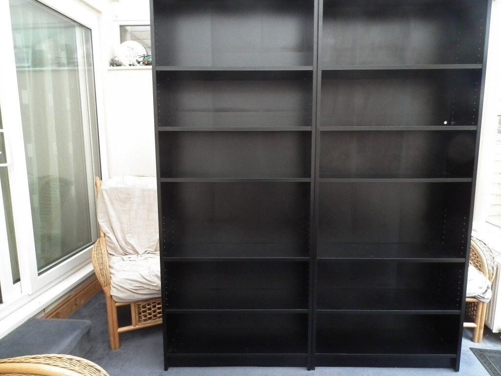 ikea billy bookcases in fareham hampshire gumtree. Black Bedroom Furniture Sets. Home Design Ideas
